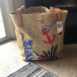 Vera Bradley North South Beach Tote NWT